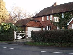 Bedhampton - An older style house in Old Bedhampton