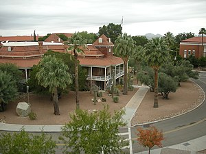 Old Main, University of Arizona