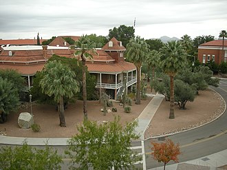 Old Main, University of Arizona - Image: Old Main, north view