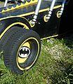 Old carnival parade car.JPG