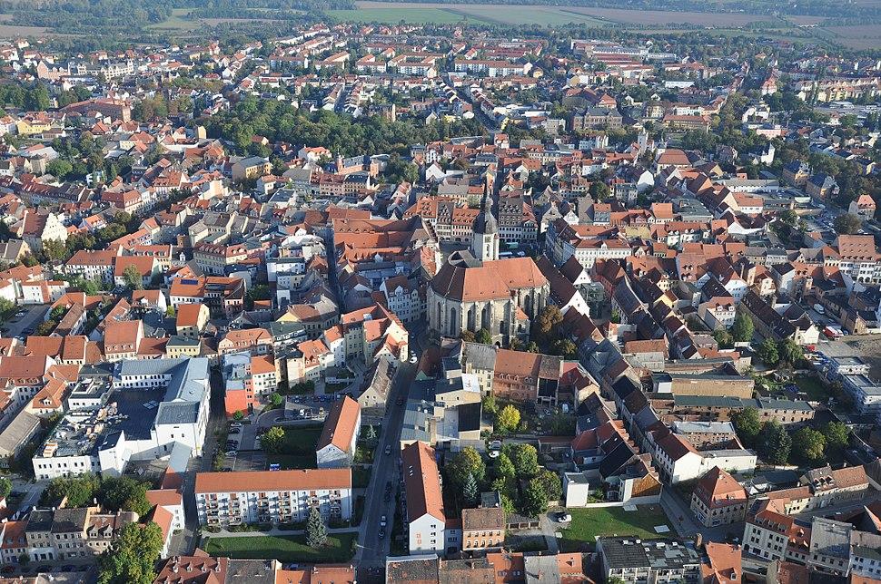 Old city of Naumburg