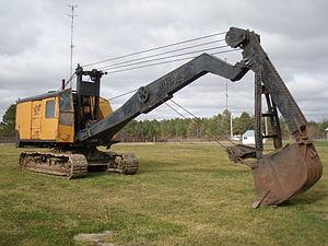 Terex - Image: Old excavator