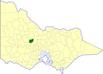 Shire of Bet Bet - Location in Victoria