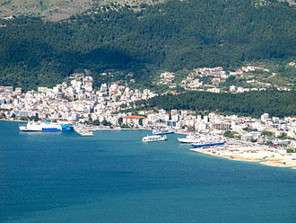 Igoumenitsa - View of the old port