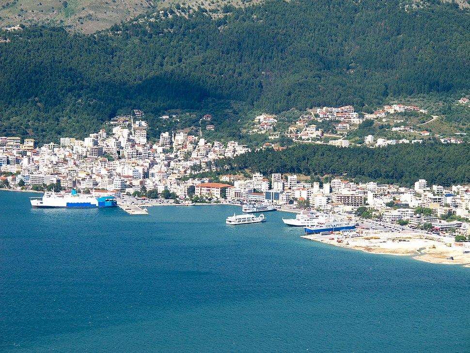 Old port of Igoumenitsa