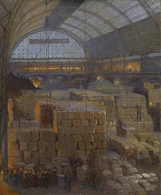 Clare Atwood - Olympia in War Time by Clare Atwood from the IWM collection.