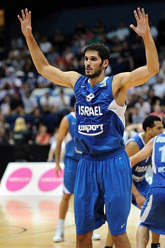 Omri Casspi - Casspi, playing for Israel in 2010