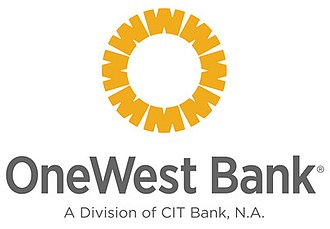 OneWest Bank - Image: One West Bank logo