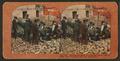 Opening the safes of a Market Street jewellry store, San Francisco, after the catastrophe, from Robert N. Dennis collection of stereoscopic views.png