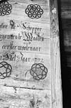 opschrift in korenmolen - hulst - 20118963 - rce