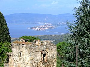 Panorama di Orbetello