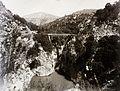 Orehovica (ma a város része), híd a Recsina folyó völgye felett. Fortepan 86919.jpg