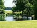 Ornamental lake, Hartham Park, Corsham - geograph.org.uk - 1942372.jpg