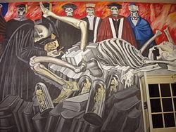 Muralismo mexicano wikipedia la enciclopedia libre for Arte mural mexicano