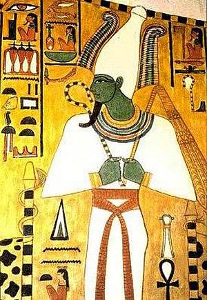 Crowns of Egypt - Image: Osiris tomb of Nefertari