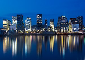 أوسلو: Oslo at night