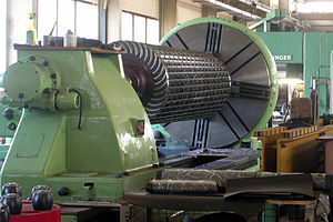 Cross-flow turbine - Ossberger turbine runner