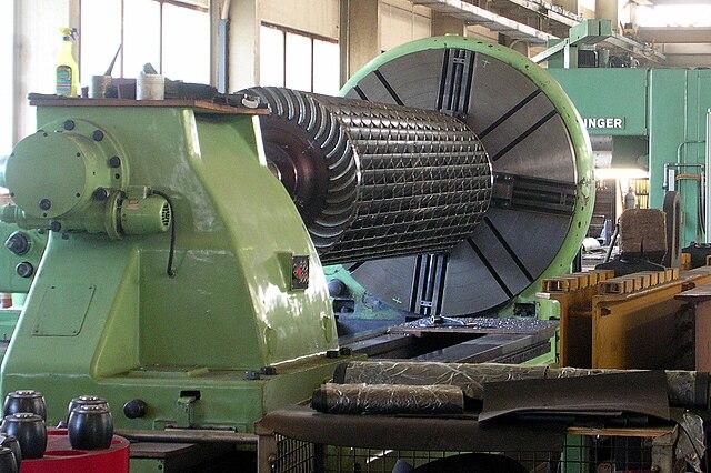 Ossberger turbine runner