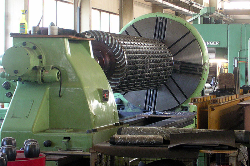 File:Ossberger turbine runner.jpg