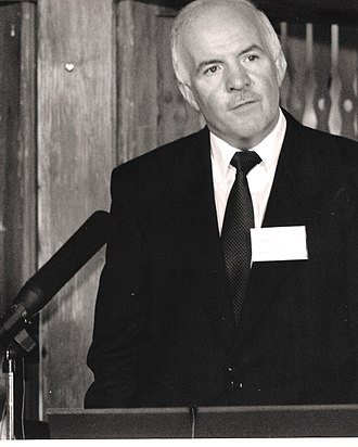 Stanley O'Toole - Stanley O'Toole speaking at a Warner Bros.-Village Roadshow conference in 1990
