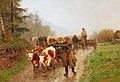 Otto von Thoren - Farmer with Team of Oxen.jpg