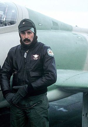 Battle of San Carlos (1982) - Lt Owen Crippa and his Aermacchi MB-339