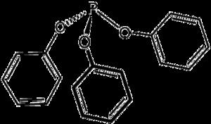 Triphenyl phosphite - Image: P(O Ph)3