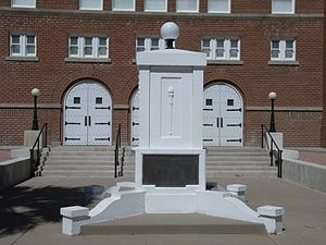 Phoenix Indian School - The War Memorial