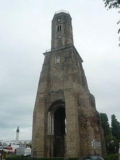 Tour du Guet lighthouse in Pas-de-Calais, France