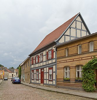 Treuenbrietzen - Timber framed houses