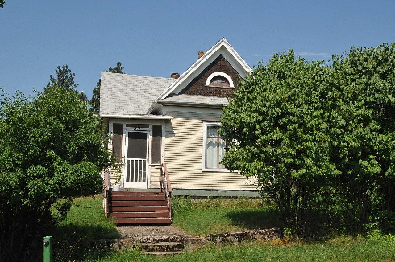 File preston house thompson falls sanders county for Preston house