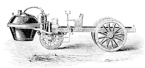 PSM V12 D273 Cugnot steam engine