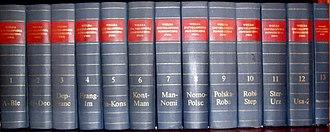 Wielka Encyklopedia Powszechna PWN - Volumes 1 through 11