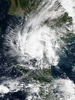 Tropical Storm Pabuk (2019) Weak storm that struck the southern tip of Thailand in January 2019