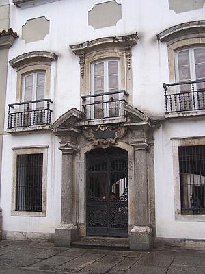 Paço Imperial - Main portal of the Paço Imperial
