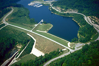 Paintsville Lake - Lake and Dam