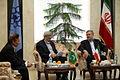 Pakistan Consul General met with the Mayor of Mashhad - Seyyed Sowlat Mortazavi and Qazi Habib ul-Rahman 3.jpg