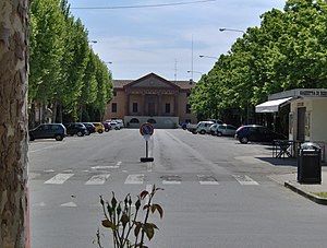 Rio Saliceto - Town hall of Rio Saliceto