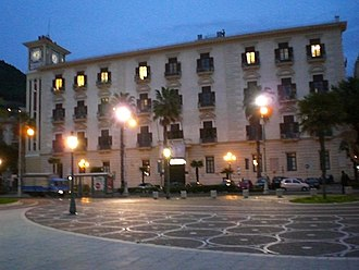 Province of Salerno - Palazzo Sant'Agostino, home to the provincial seat.