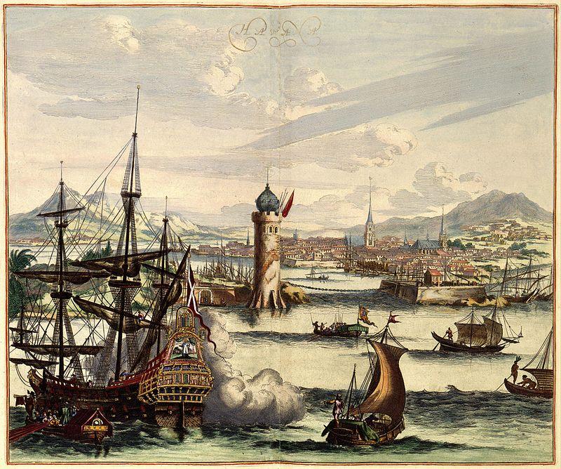 Panorama of La Habana (Amsterdam, 17th century).jpg