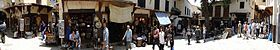 Panorama of Street Scene - Medina (Old City) - Fez - Morocco.jpg