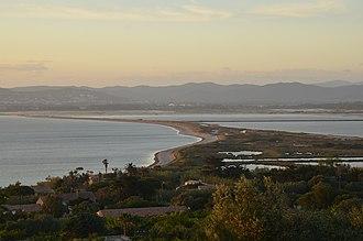 Giens Peninsula - Panorama view of the peninsula