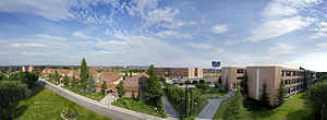 Universidad Francisco de Vitoria - View of campus.