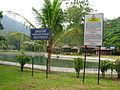 Papan tanda amaran di Kolam Air Panas Bentong, Bentong, Pahang.JPG