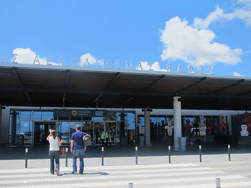 Paphos International Airport by Paride.JPG