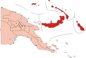 Islands Region - Image: Papua New Guinea Islands Region