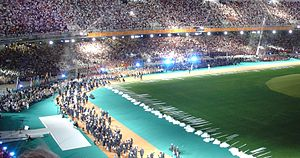 Paralympic Games - Opening ceremony of the 2004 Summer Paralympics in Athens