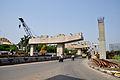 Parama-Park Circus Flyover Under Construction on John Burdon Sanderson Haldane Avenue - Kolkata 2012-05-03 0019.JPG