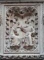 Paris, cathédrale Notre-Dame, bas-relief des chapelles du chœur 05 Le Couronnement de la Vierge.jpg