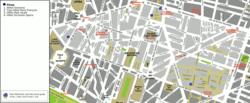 מפת הרובע השני של פריז